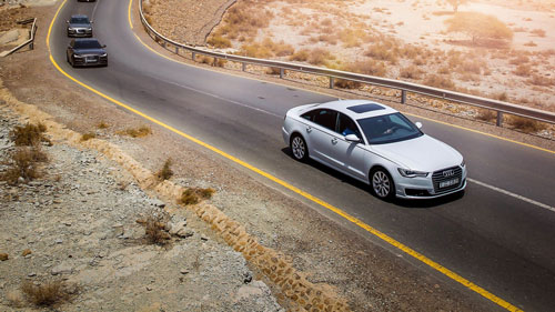 Audi A6 for rent in Lebanon