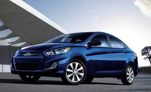 Hyundai Solaris for rent in Lebanon