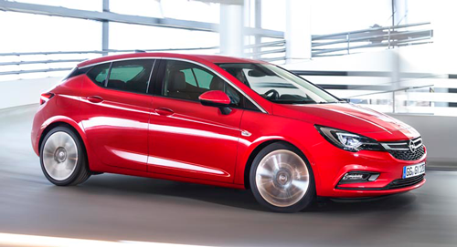 Opel Astra hatchback turbo 2018 for rent in Lebanon